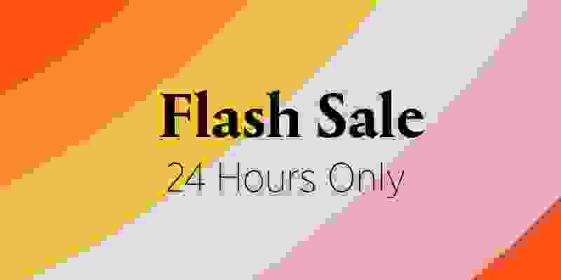 Flash Sale: $20 for 24 hours on select events