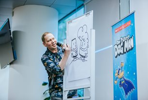 Dav Pilkey: The Do Good Tour at Riverside Theatres